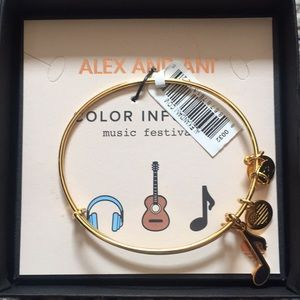 Alex and Ani NWT music festival bracelet
